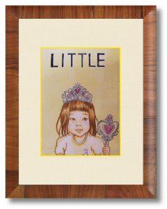 K.Iさん「LITTLE_A」(B5) 幼少期の少女の記憶を残したく作画しました。医療従事者の方たちへの支援に、少しでも貢献できれば幸いです