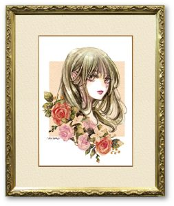 micophyさん「FLOWER」(F4)ふたつのFLOWER~花と華~
