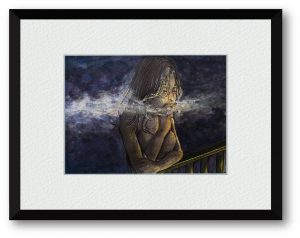 安佳里さん「蛍族」(B5)深く沈んだ時間、たった数分の蛍が燈る。人が燈した僅かな蛍が先の見えない暗がりを導いてくれますように。