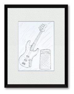 Shonichiさん「My Bass」(B5) いつもお世話になってるから