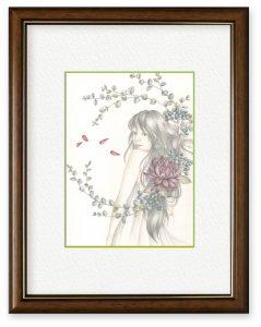 エントユウコさん「花丸!」(B5)頑張るあなたに大きな花丸を!