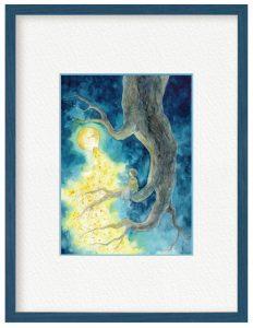 カノさん「樹の屑星」(B5)前に思いついて、描く機会がなかったものを今回形にしました。大きな樹が好きです。
