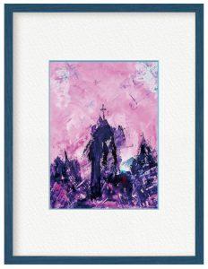 RUBY2Dさん「ボロボロの教会をリフォームして住みたい天使」(B5)心の美しい方には複数の天使が見えます🌠