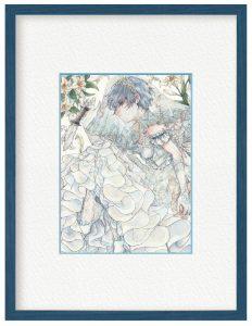 花葬場さん「身代わり」(B5)金満家と望まぬ結婚を強いられた双子の妹の代わりに花嫁として式に参加する男の子です。