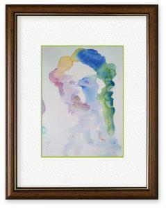 RUBY2Dさん「Wolfgang Amadeus Mozart」(B5)モーツァルト的な人を思い浮かべて描きました。描いたあと検索したら似てなかったです🌟