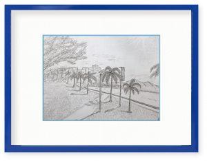 Tabi_sukiyo「海岸」(B5)もう一度見てみたいなあの夕日
