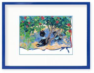 akatuさん「なんだって描けそう」(B5)絵の具セットって宝箱みたいでワクワクしませんか?
