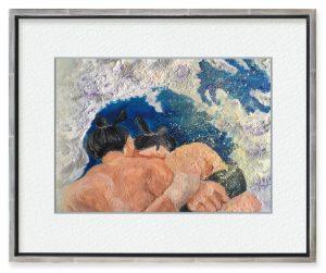 よりきりさん「機を見るに晴れ」(F4)ステイホームで相撲を見るようになって、きっかけひとつで青空が一気にひらけることを識った。